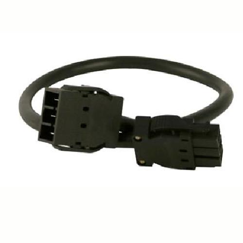 black interconnecting lead