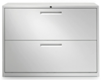 two layer white storage cabinet