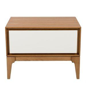 wooden 1 white drawer storage