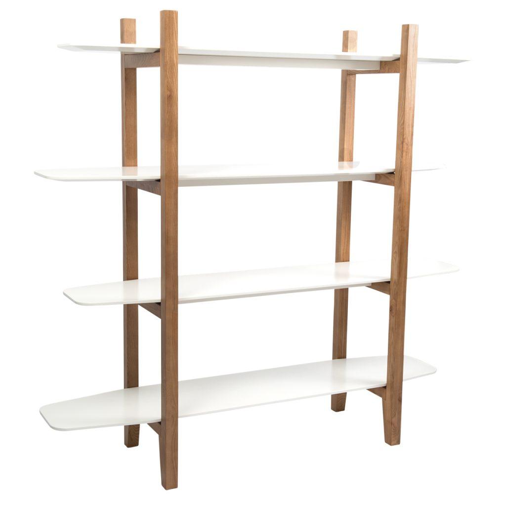 surfing inspired book shelves