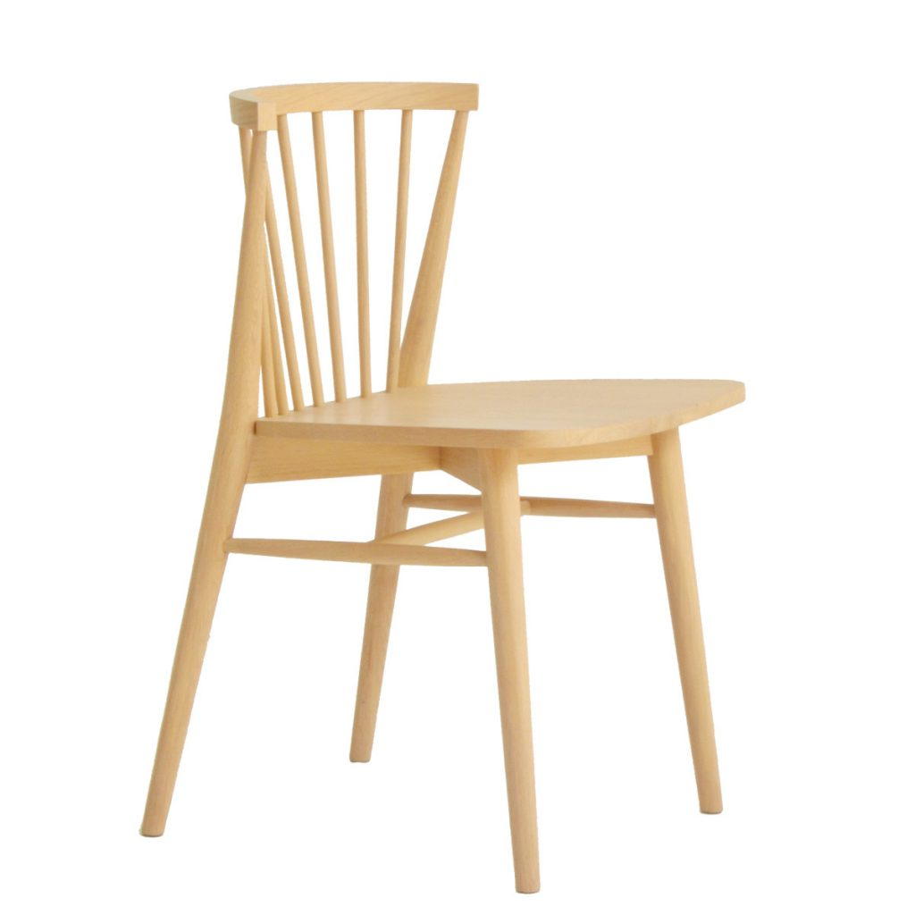 wooden chair made with oak