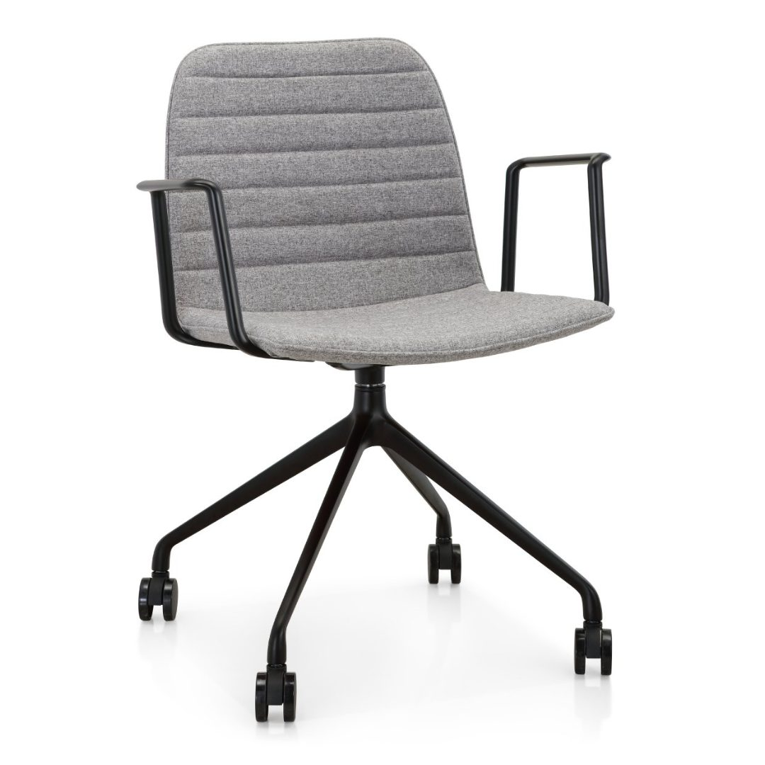 4Way Grey office chairs furniture darwin nt