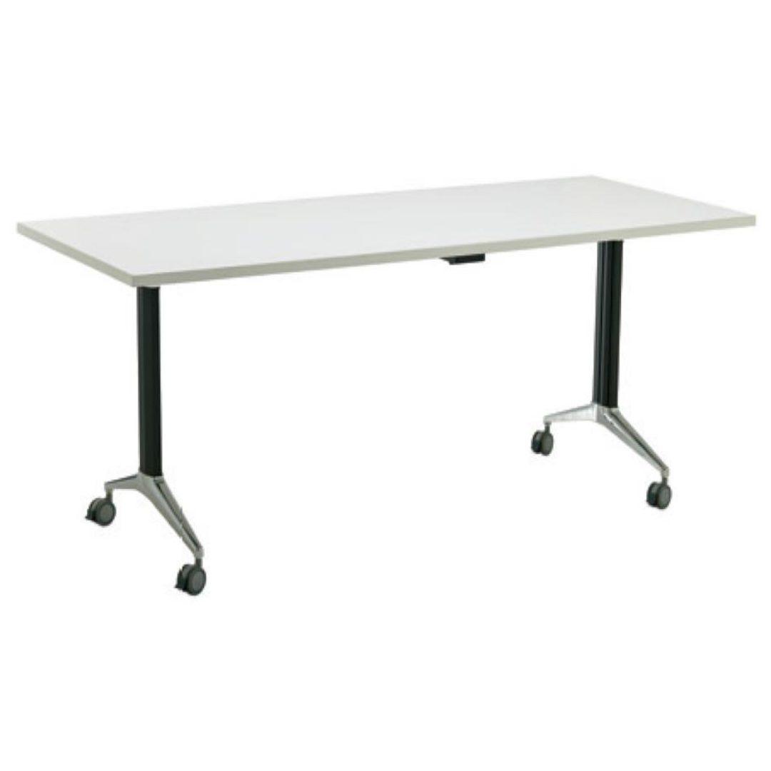 Flip Table desk wtih wheels office furmiture