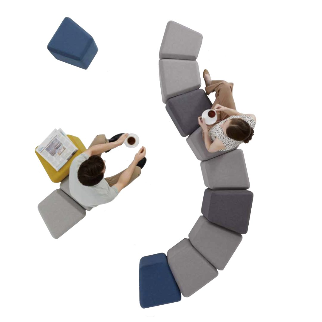 Flow S shape sofa lounge furniture darwin australia