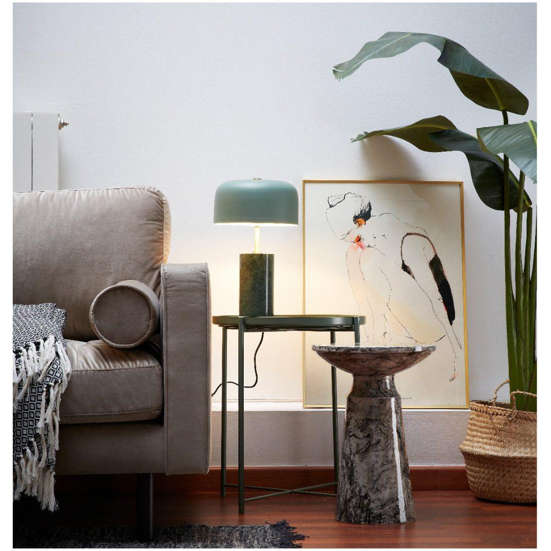 Laforma 4 sofa and corner table with lamp home office furniture darwin