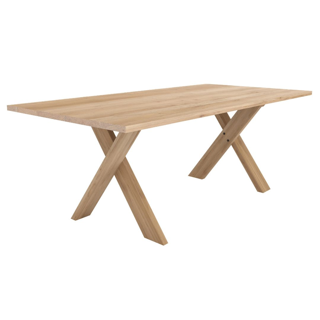 Oak Pettersson table outdoor furniture darwin