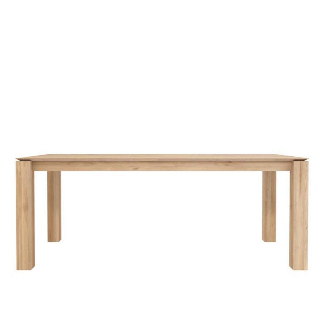 Oak Slice working table furniture darwin