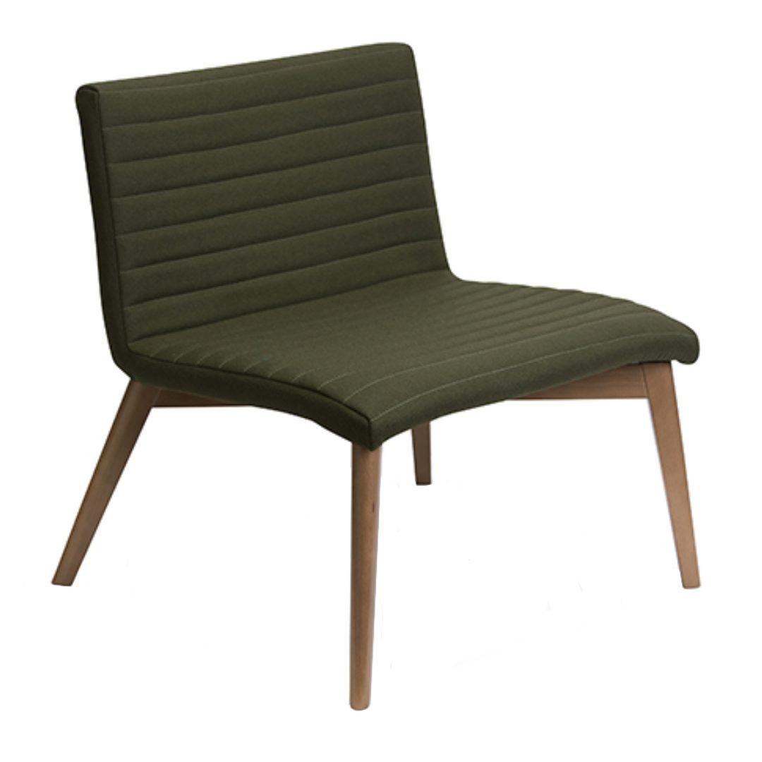 Omega Wood medium size chair witn wooden leg furniture store darwin