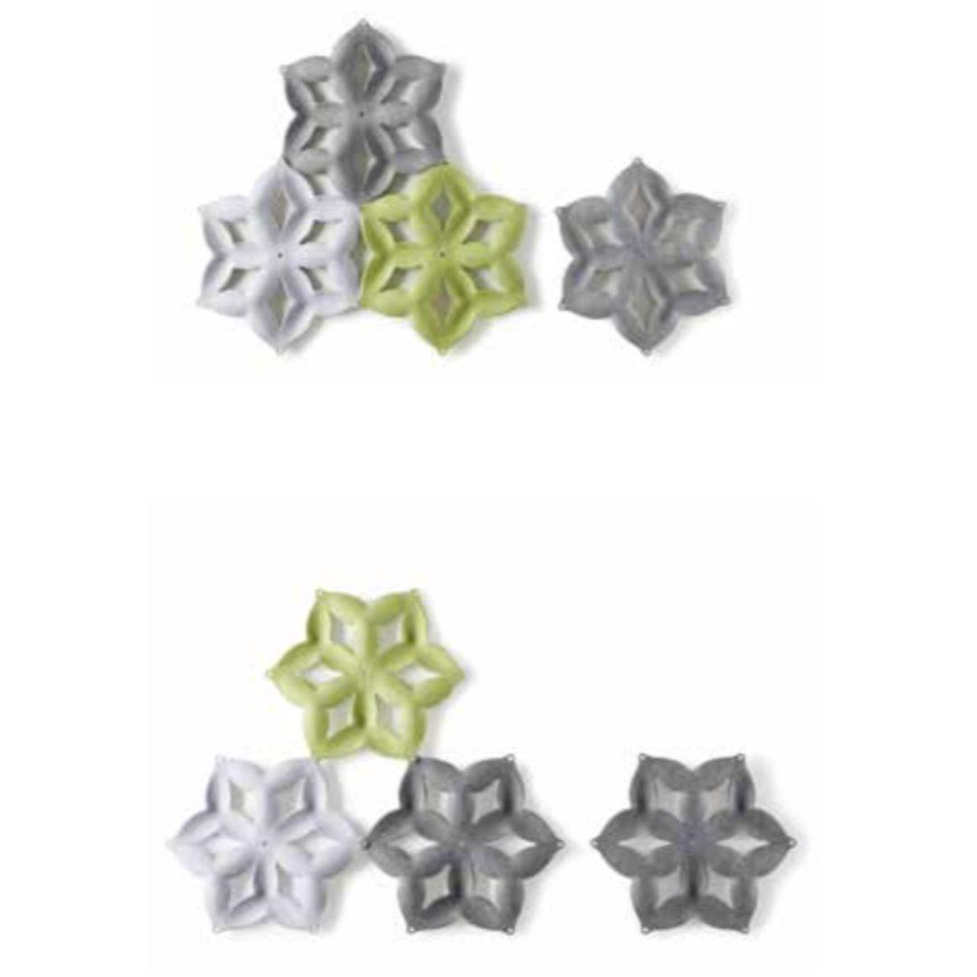 Snowflake 3 wall design home office furniture darwin