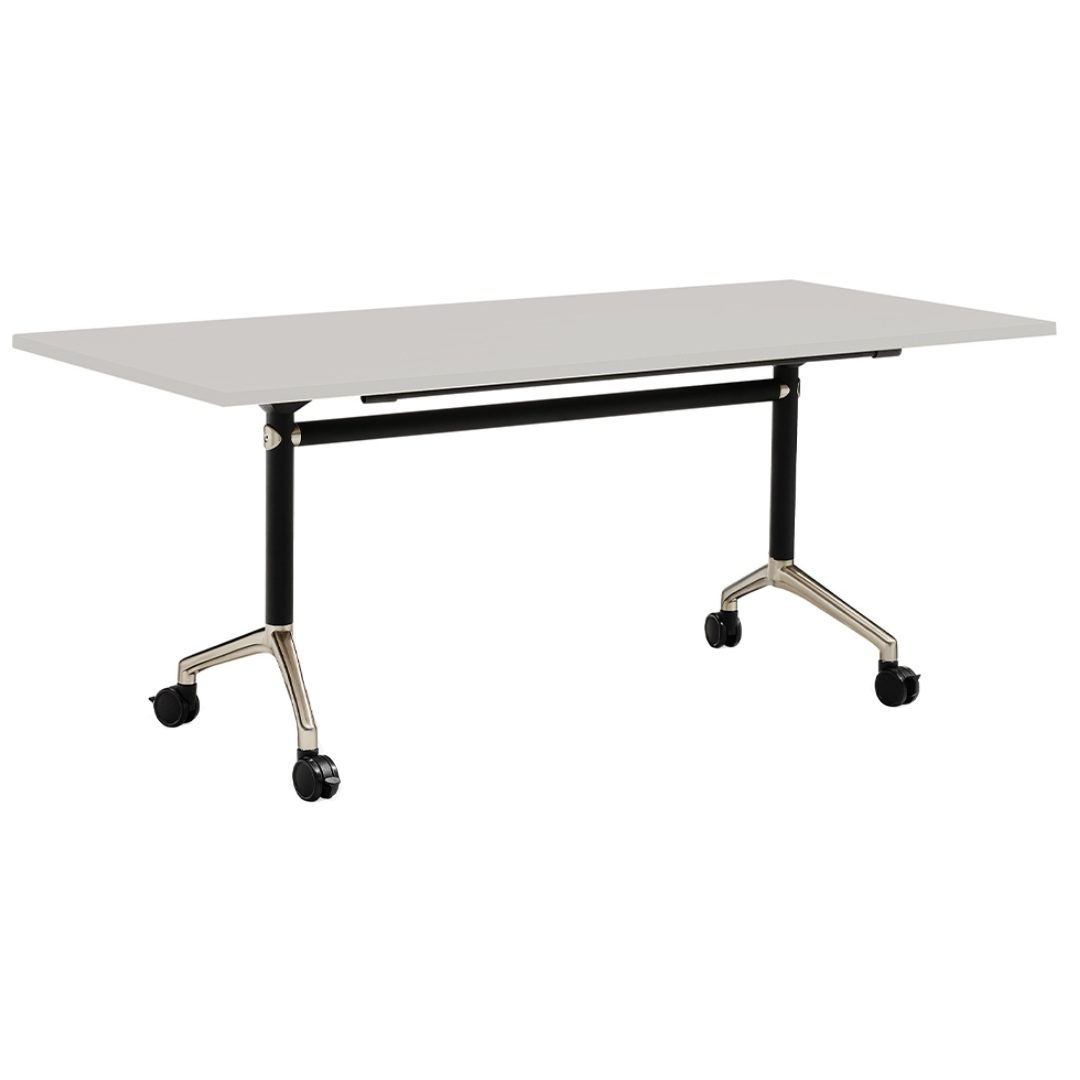 Typhoon 4 woring desk table with wheels furniture darwin nt